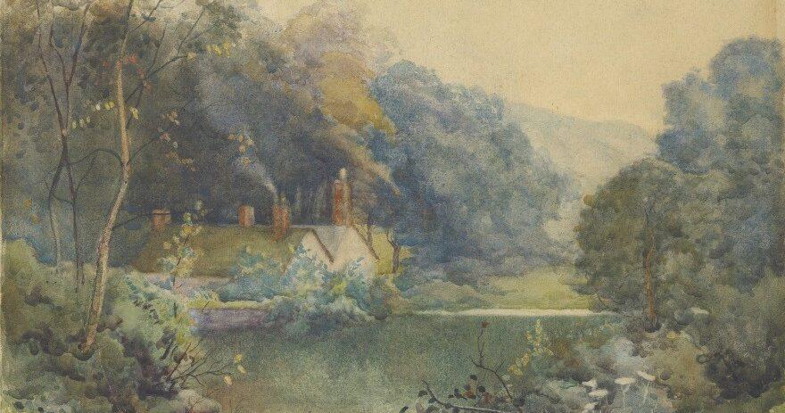 Mill dam in Rivelin by Ben Baines