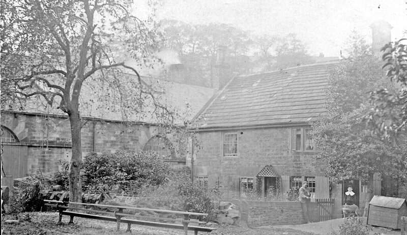 Mill building and dwelling at Walkley Bank Tilt (probably early 20th century). Sheffield City Council, Libraries Archives and Information: www.picturesheffield.co.uk Image s10492.