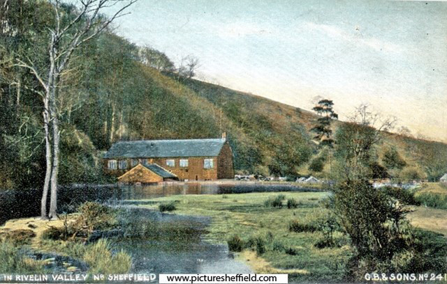 Roscoe Wheel and mill dam (undated). Sheffield City Council, Libraries Archives