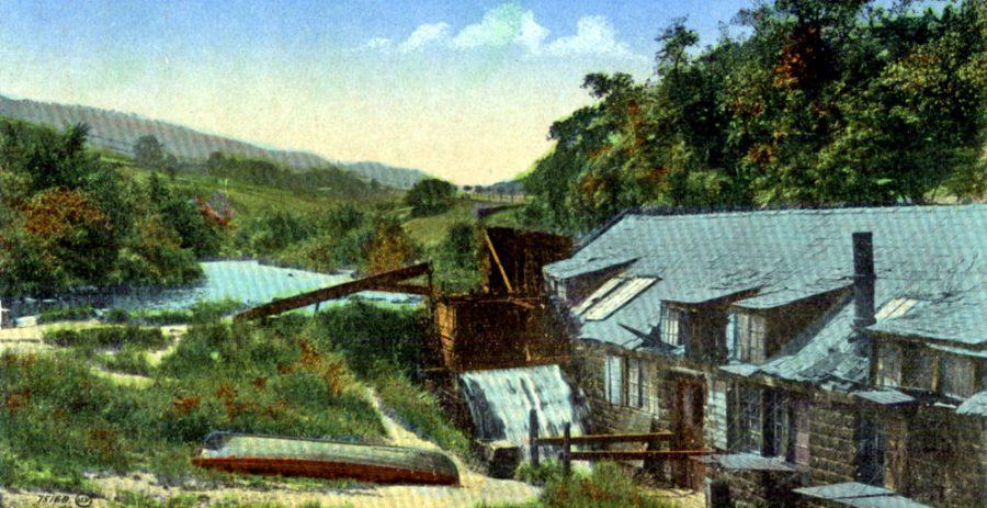 Upper Cut Wheel in the early 20th Century.
